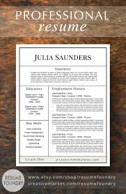 Are There Resume Templates In Microsoft Word Best 25 Unique Resume Ideas On Pinterest Resume Simple Cv