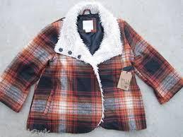 L Shade Billabong L Shade Of Winter Coat Jacket Top Wool Blend