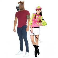 Horse Jockey Halloween Costume Horse Jockey Couples Costume