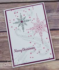 star of light recessed star christmas card buy stampin u0027 up uk