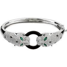 diamond bracelet white gold images Alexis panther diamond bracelet white gold jpg
