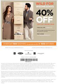 banana republic black friday coupon sale alert banana republic 40 off wednesdays chic everywhere