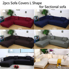 slipcovers for sectional sofas sectional slipcovers ebay