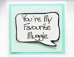 harry potter congratulations card harry potter quote card muggle card for birthdays aqua note