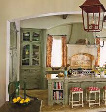 french country kitchens ideas in blue and white colors vintage