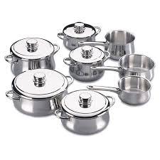 cuisine en batterie de cuisine fagor batterie de cuisine 13 pièces achat vente batterie de