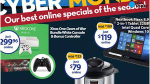 wal mart cyber monday deals start sunday