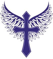 royalty purple cross with wings w o text iam clothing christian