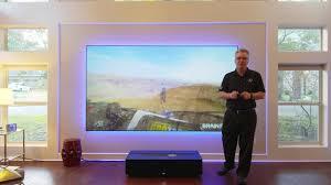 home theater 4k projector sony 4k projector ultra short throw vpl gtz1 and zero edge short