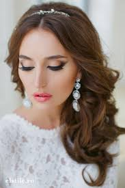 pics of bridal hairstyle 119 best maquillaje para novias bridal makeup images on