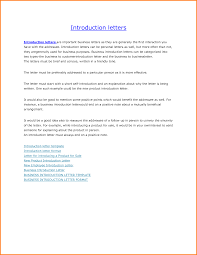 10 business introduction letter letterhead template sample