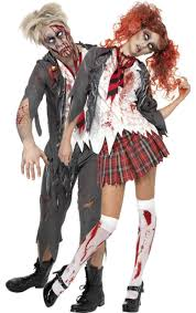 Halloween Costumes Dead Cheerleader Zombie Schoolboy U0026 Schoolgirl Combination Jokers Masquerade