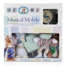 beatrix potter peter rabbit plush musical mobile buybabydirect