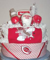 cincinnati gift baskets baby shower gift basket business cincinnati reds front 100 1398