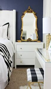 bedroom best navy gold bedroom ideas on pinterest blue and black