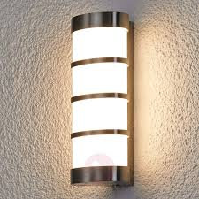 outdoor wall lantern lights leroy stainless led exterior wall l lights ie