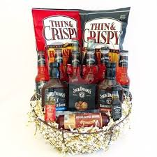 whiskey gift basket whiskey bbq gift basket