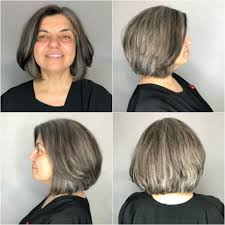 cut before dye hair how to go gray tips for transitioning to gray hair