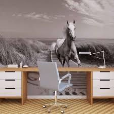 white horse beach grey photo wallpaper mural 3136wm consalnet white horse beach grey photo wallpaper mural 3136wm