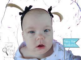 how to make baby hair how to make hair headbands smallfineprint