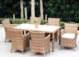 Rattan Patio Dining Set Wicker Dining Set Kulfoldimunka Club