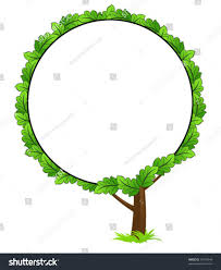 blank tree frame icon isolated on stock vector 31078444