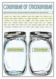 Countable And Uncountable Nouns Exercises Advanced Pdf Countable And Uncountable Nouns Worksheets