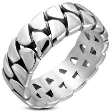round steel rings images Stainless steel rings metal pleasures jpg