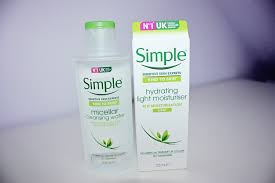 simple light moisturizer review review simple micellar cleansing water moisturizer www