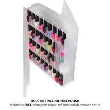 amazon com professional nail polish storage organizer holder case