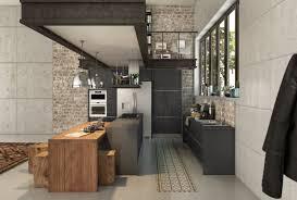 cuisine industrielle des idées de cuisines industrielles aussi jolies que pratiques