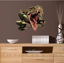 3D dinosaur wall stickers decor living room