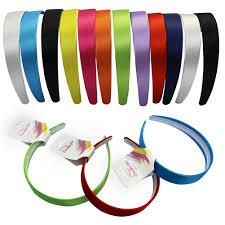 ribbon headbands hipgirl grosgrain ribbon wrapped headbands multi