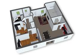Awesome 3d View Home Design Interior Design Ideas
