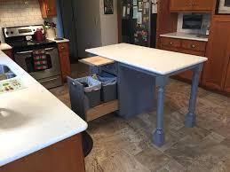 simple kitchen island simple diy kitchen island ideas for everyone diy projects regarding