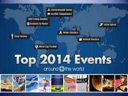 top 2014 events around the world