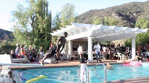 brown birthday party chris brown pool party birthday party the