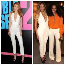 gucci jumpsuit who wore it better thorne vs beyoncé in gucci s pearl