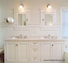 mission cabinets cottage bathroom hampton design