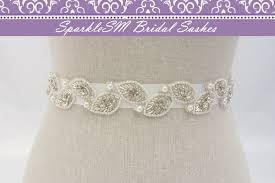 wedding dress sashes bridal sash bridal belt rhinestone bridal sash bridal dress