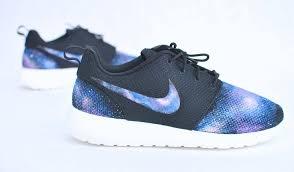 custom nike roshe run hand painted galaxy sneakers u2013 b street shoes