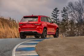 cars movie jeep jeep says the grand cherokee trackhawk is the fastest suv ever
