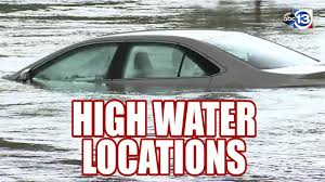 Harris County Toll Road Map High Water Locations Reported Around Houston Abc13 Com