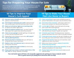 infographic california real estate market improvingthe 20 tips for preparing your house for sale kris and kim darney