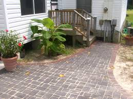 Types Of Patio Pavers by How To Make A Cheap Patio Home Design Ideas And Pictures