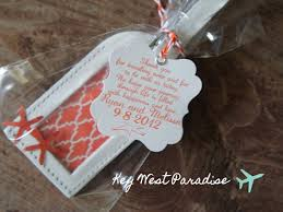 luggage tag favors hey i found this really awesome etsy listing at http www etsy