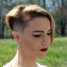 forced to get female hair style forced headshave haircut buzzcut women 17004 sidecuts s4