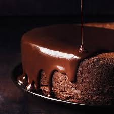 how to glaze a cake with glossy chocolate recipe bon appetit