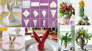 Easter Buffet Table Decorations by 21 Diy Decorations For Your Easter Brunch Table Ideachannels