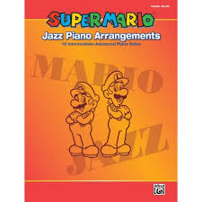 mario jazz piano arrangements 15 intermediate advanced piano solos